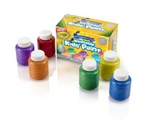 Crayola 6 colori a tempera lavabili per bambini