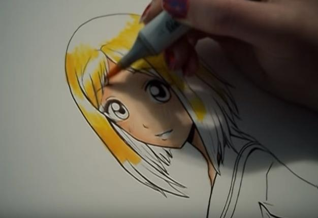 Video tutorial colorazione di base con i Copic