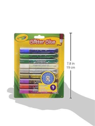 Crayola 9 colle brillanti pennarelli copic for Aerografo crayola amazon