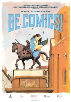 locandina be comics padova 2018