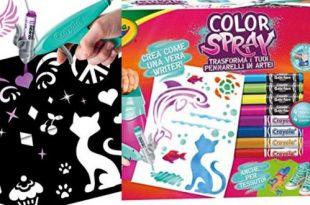 Crayola color spray aerografo per bambini