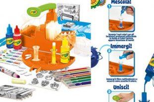 Laboratorio dei pennarelli profumelli Crayola prezzo e dove trovarlo
