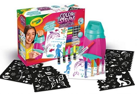 pennarelli a spruzzo colori spray per bambini crayola aerografo