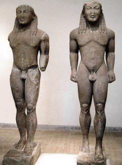 Kleobis e Bitone Polymedes di Argo Delfi
