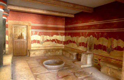 Locale del palazzo di Cnosso