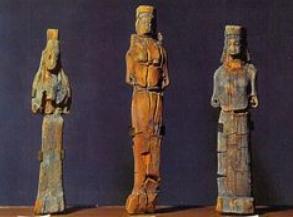 Xoanon scultura greca arcaica