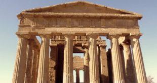 Tempio greco le parti e la pianta