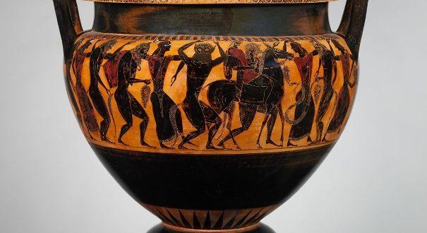ceramica attica vasi greci