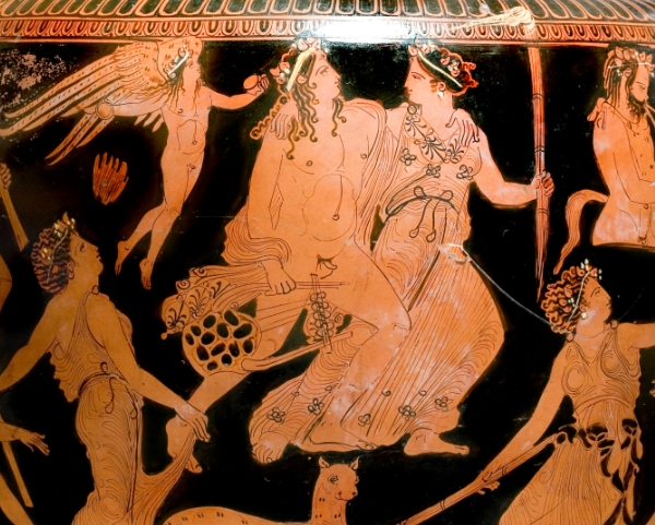 Vasi greci a figure rosse