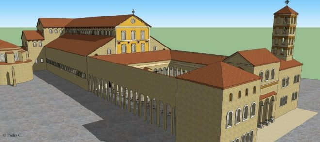 Basilica paleocristiana pianta e descrizione