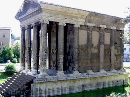 Tempio della Fortuna Virile Roma