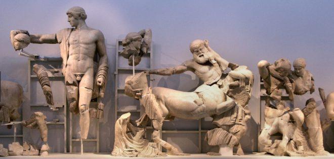 Tempio di Zeus ad Olimpia frontoni