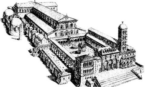 Basilica di San Pietro paleocristiana