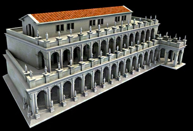 basilica emilia architettura romana