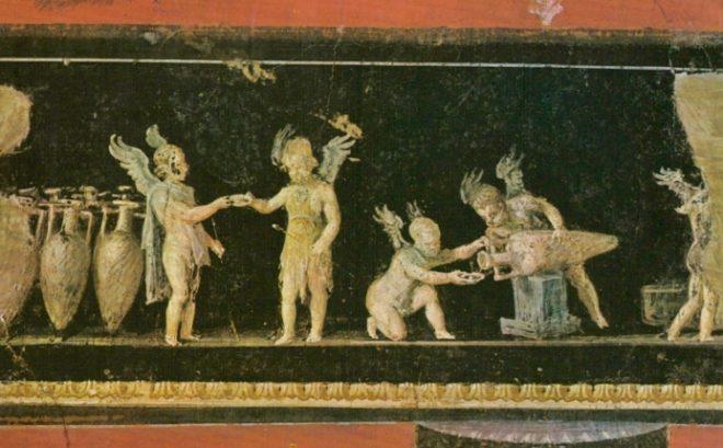 Fregio degli amorini Pompei
