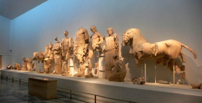 Frontone orientale del tempio di Zeus a Olimpia