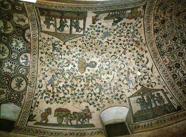 Mosaici paleocristiani di Santa Costanza
