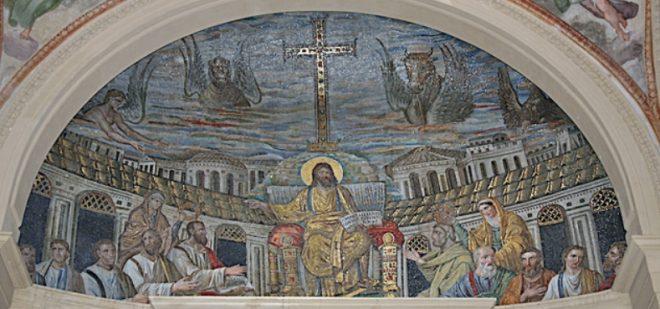 Mosaico Abside Santa Pudenziana