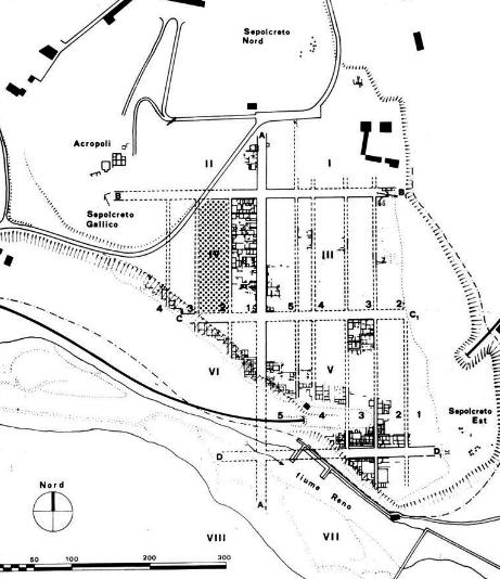 Pianta città etrusca