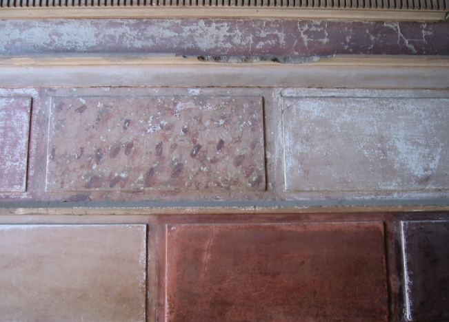 Primo stile pittura romana