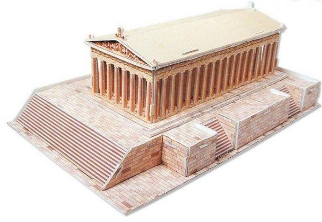 Ricostruzione del Partenone di Atene