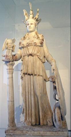 Fidia, statua di Atena Parthenos