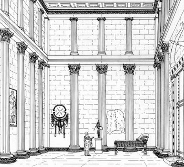 tempio di Atena a Tegea