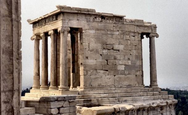 tempio di atena nike acropoli di atene