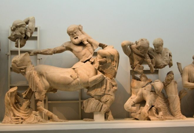 tempio di Zeus a Olimpia