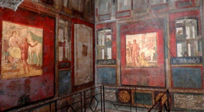 Terzo stile pittura romana