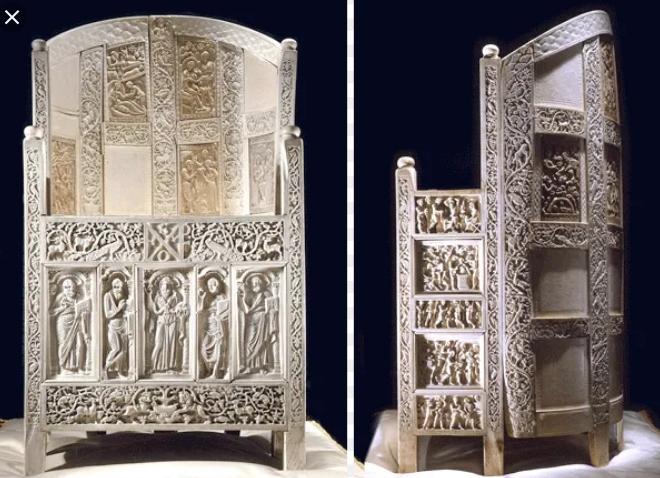 cattedra di massimiano scultura bizantina