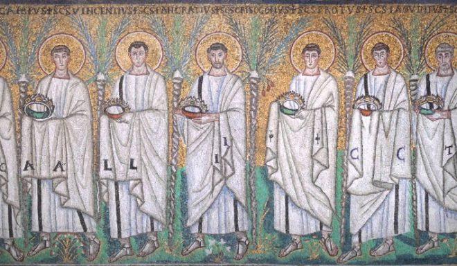 mosaici apollinare nuovo