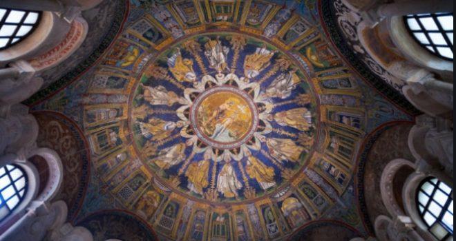 mosaici battistero degli ortodossi ravenna
