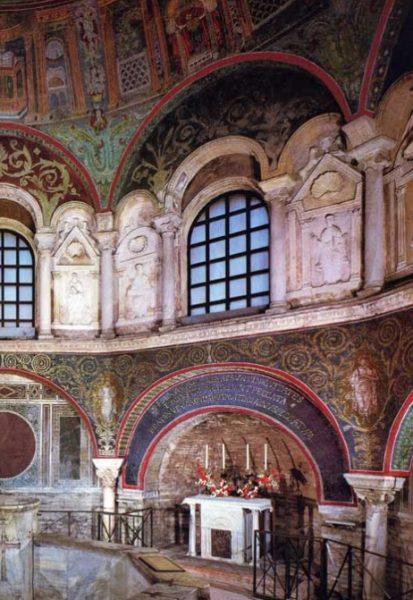 mosaici battistero ortodossi ravenna