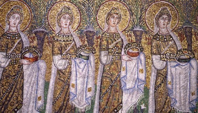 mosaici s apollinare nuovo