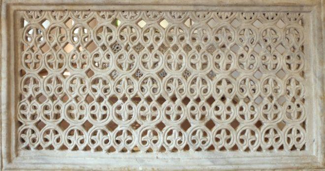 scultura bizantina transenna marmo san vitale ravenna