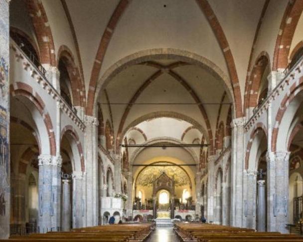 basilica di sant ambrogio a milano