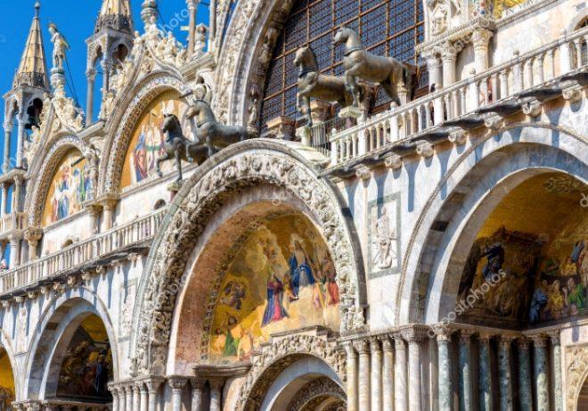 facciata basilica di san marco venezia