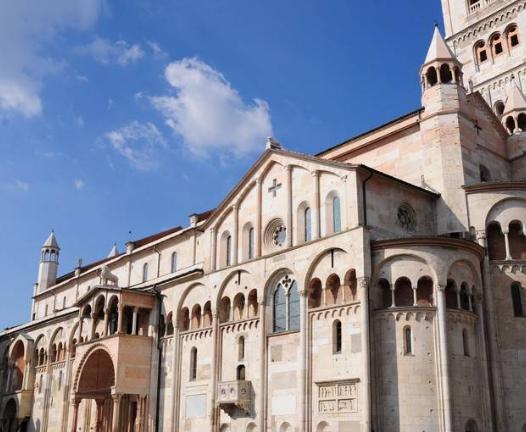 Lato del Duomo di Modena