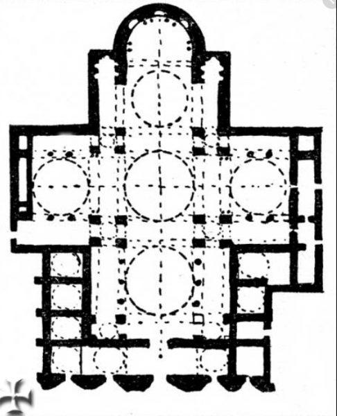 pianta basilica di san marco venezia