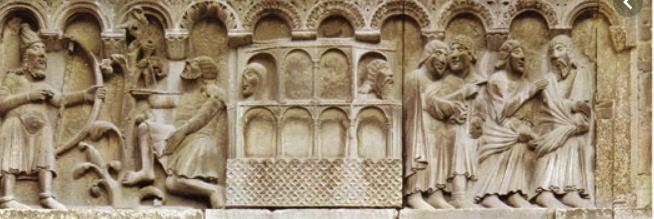 wiligelmo scultura romanica quarta lastra