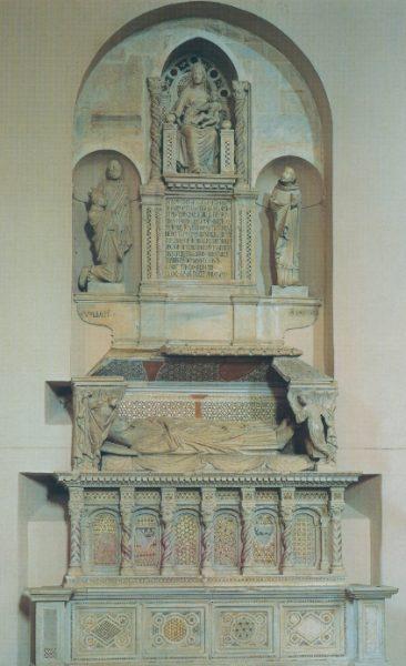 Monumento sepolcrale del Cardinale di Braye arnolfo di cambio