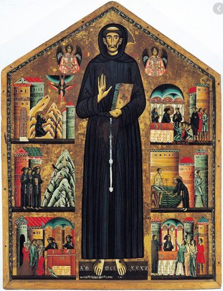 San Francesco di  Bonaventura Berlinghieri