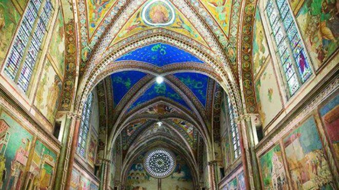 affreschi assisi basilica superiore