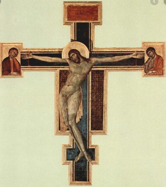 crocifisso cimabue santa croce