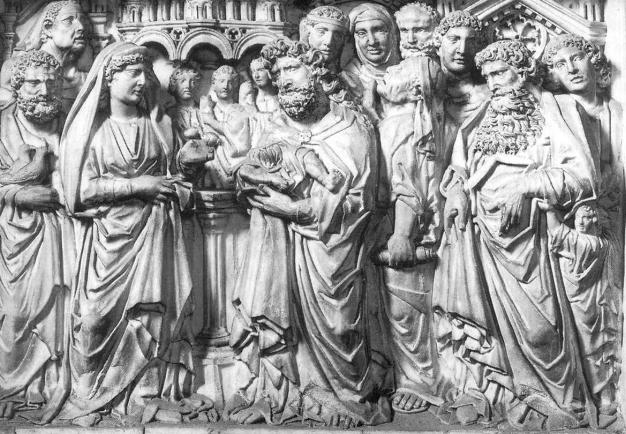 pulpito battistero di pisa Presentazione al Tempio