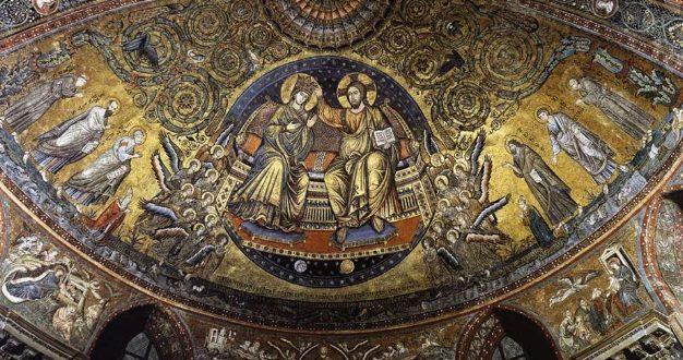 Torriti Cavallini scuola romana del XIII secolo