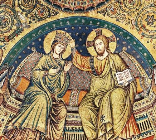 Jacopo Torriti incoronazione della Madonna